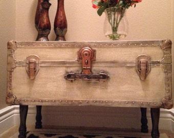 Vintage Trunk Table