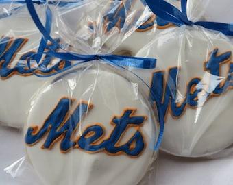 NY Mets Sugar cookies