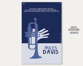 Miles Davis - Classical Music Poster 11''x17''