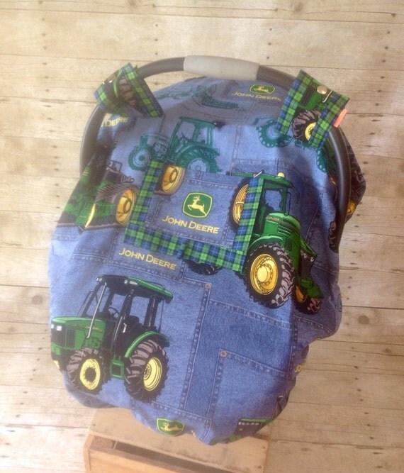 John Deere Truck Seat : John deere summer infant car seat canopy foot by