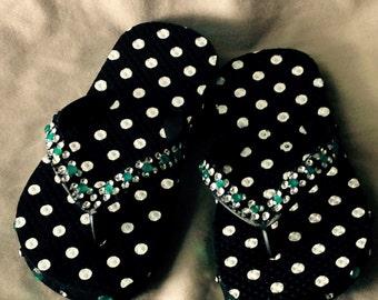 Girls Little Polka Dot Flip Flop