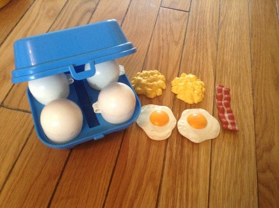 Vintage fisher price fun with food breakfast eggs by - Cuisine bilingue fisher price ...
