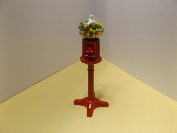 bubble gum machine with stand