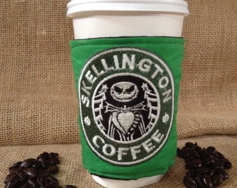 Jack Skellington  Coffee Sleeve