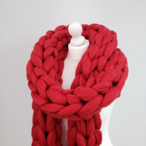 Scarf Knitting Kits Uk : Scarf knitting kit learn to arm knit by woolcouturecompany
