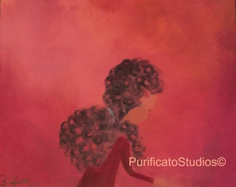 Where for Art Thou- Original Acrylic Paintings by Danielle Purificato