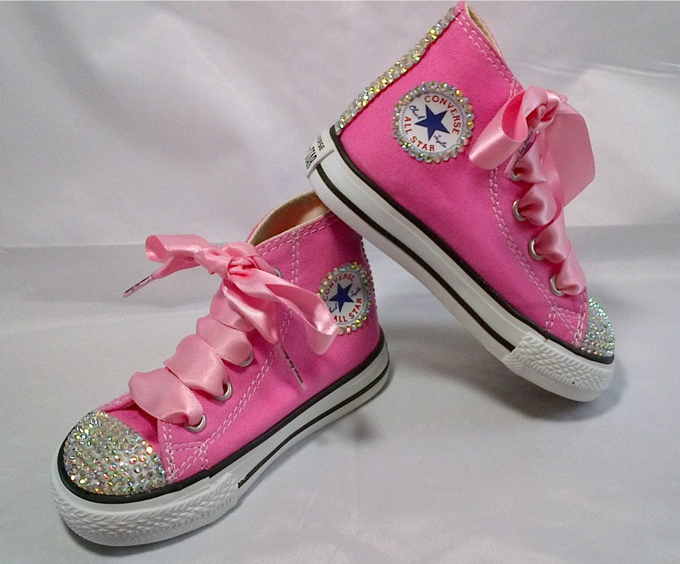 Bling Converse Wedding Shoes Blinged Kids Converse Wedding