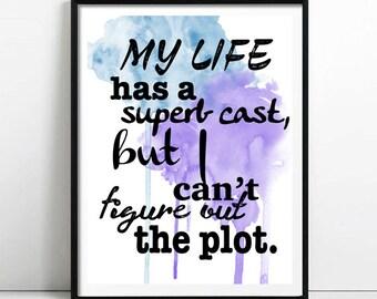 My life print