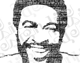 Marvin Gaye Music Print