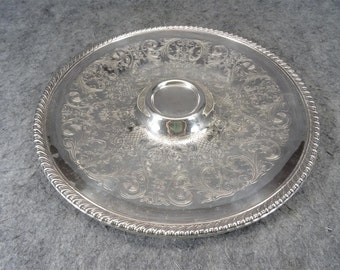 William Rogers Silver-Plated Relish Serving Tray