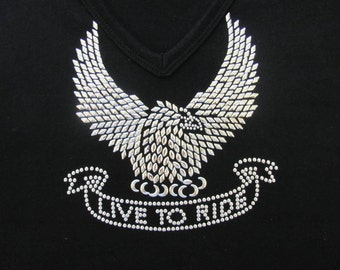 Motorcycle  Live To Ride