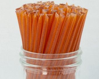Peach Honey Sticks - 100 Count - FREE SHIPPING