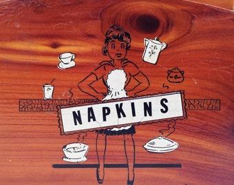 Retro Napkin Holder