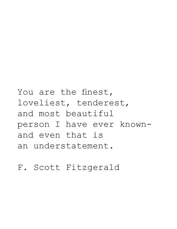 you are the finest loveliest tenderest book