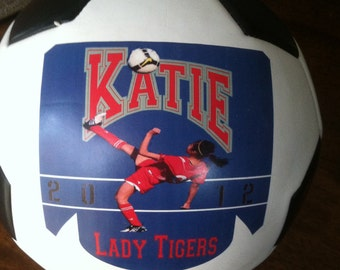 Personalized, Custom Soccer Balls for Coaches' Gifts, Senior Gifts, Team Awards and Soccer Gifts