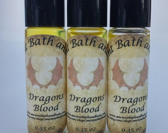Dragon's Blood Fragrance Oil, Dragon's Blood Perfume Oil, Dragon's Blood Essential Oil