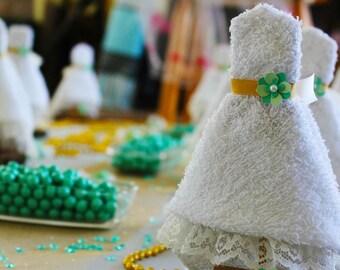 Rustic Wedding Wash/Dish Cloth