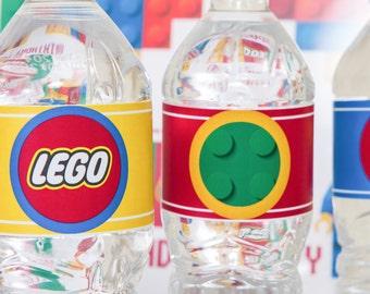 Legos Party Printables/ Lego Party Package/ Legos Party Decorations/Lego/ Legos Birthday Printables/ Lego Birthday Party/ Legos/ Legos Party