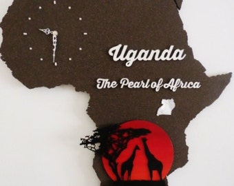 Africa - Uganda, the Pearl of Africa.