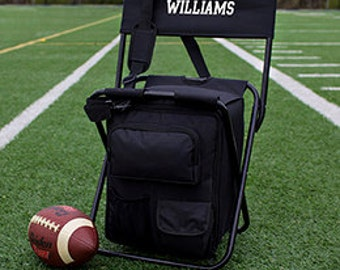 Personalized All in One Tailgate Cooler  Groomsmen Gift soccer Tailgate sports birthday Hunting Fishing Groomsman Camping