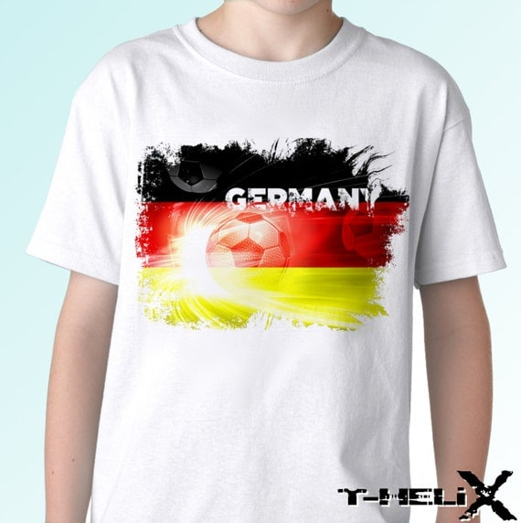 germany football flag new white t shirt country flag soccer. Black Bedroom Furniture Sets. Home Design Ideas