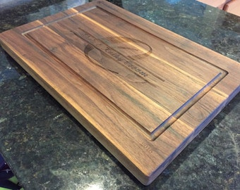 Customized Walnut cutting board