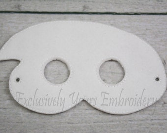 Ghost Children's Mask  - Costume - Theater - Dress Up - Halloween - Face Mask - Pretend Play - Party Favor