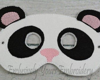 Panda Children's Mask  - Costume - Theater - Dress Up - Halloween - Face Mask - Pretend Play - Party Favor