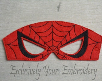 Web Hero Children's Mask, Costume, Theater, Dress Up, Hallowen, Face Mask, Children's Pretend Play
