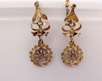 Spanish earrings earrings replica s.XVIII,Vitange