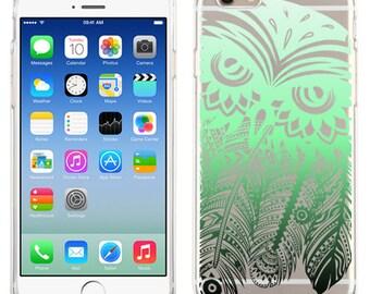 Tribal Owl Dream catcher For iPhone 6, iPhone 6 Plus, iPhone 5/5s, iPhone 5c Transparent case
