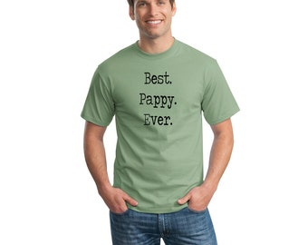 Best Pappy Ever T-Shirt Happy Father's Day Gift Ideas For Him