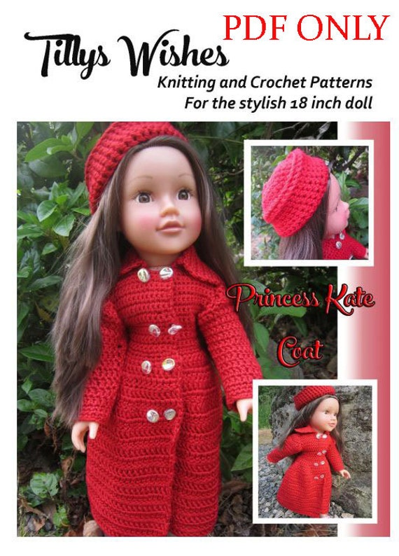 Princess Kate Coat Crochet Pattern