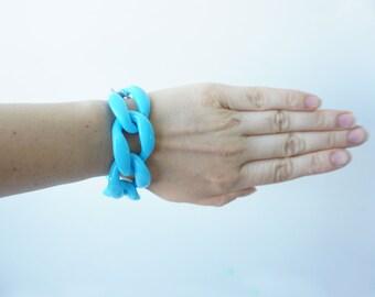 Сhunky Chain Link Bracelet Many Colors