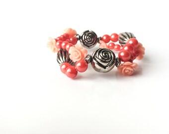 Peachy Rose Set