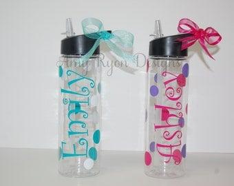 Tritan Summit 24 oz Sports Bottle, Tritan Water Bottle, Custom Tritan Sports Bottle , Bridal Party Water Bottle, Custom Bridal Party Gift