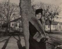 Vintage Flapper Photo/ Vintage Snapshot/ Twenties Photo