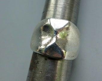 Modernist Sterling Ring KM