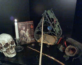 Wiccan Witchcraft Magickal Willow Wand Hand-Carved Wands Made-to-Order