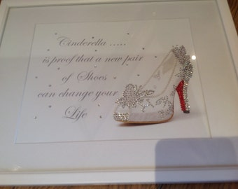 louboutin diamante & pearl butterfly shoe picture 14 x 11