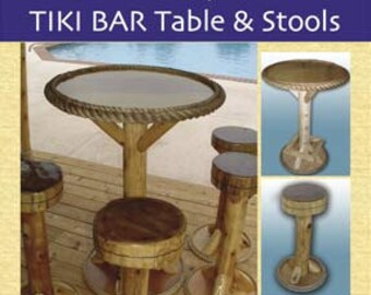 downloadhow to build your own tiki bar tables u0026 stools book written by tiki