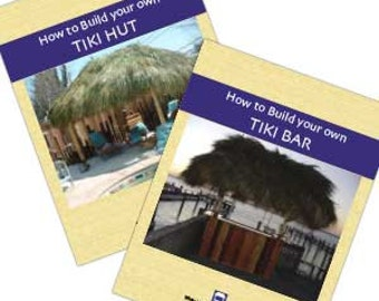 How to Build Your Own Tiki Bar and Tiki Hut Combo Set Written by Tiki Kev