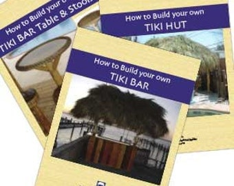 download version how to build your own tiki bar tiki hut and tables u0026