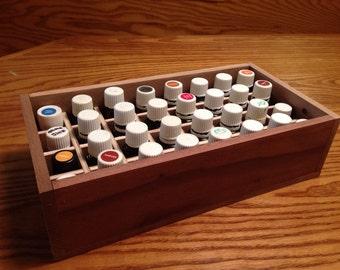 Essential Oil Tray/box/insert/rack/shelf holds 32 (15ml) bottles
