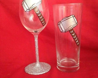 Thor wine/pint glass