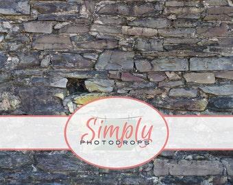 Vinyl Backdrop, RUGGED ROCK WALL vinyl Photography Backdrop