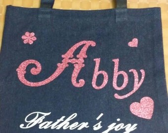 Name/Meaning Personalized Tote Bag