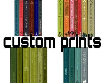 custom prints as a book series