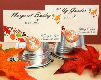Place cards - 24 wedding place cards, printable placecards, wedding place cards - Made in USA