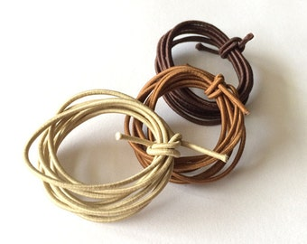 Set of 2 elastic bands for traveler's notebook
